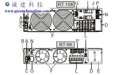 横流式冷却塔系统图 电控柜
